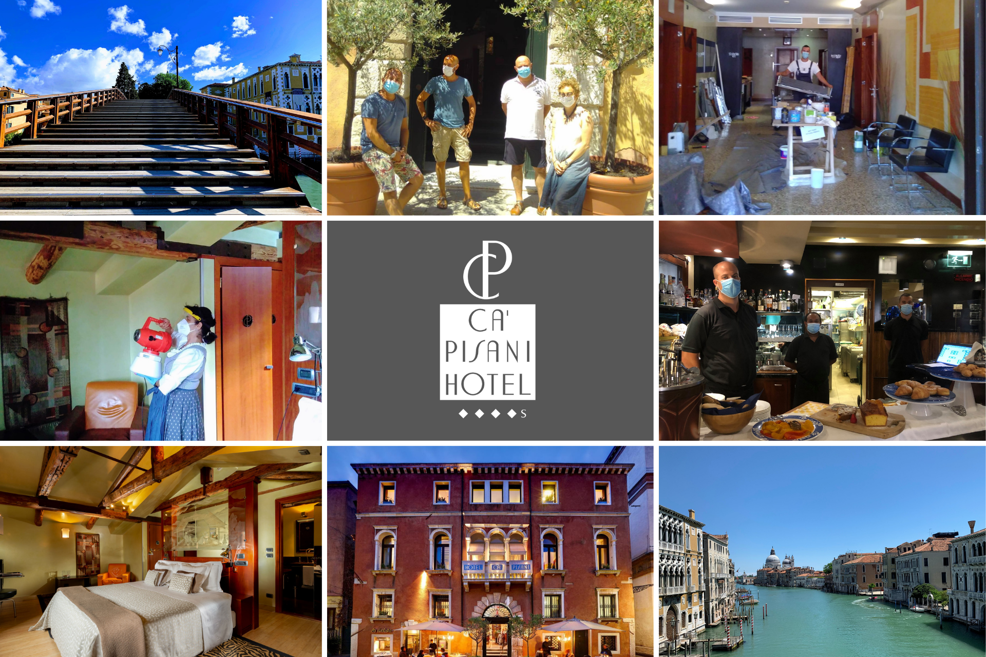 Ca' Pisani Hotel Venice - temporary closure - october 2020